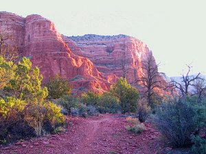Courthouse Butte Loop Trail near the Village of Oak Creek, Arizona