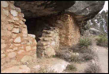 Photo of Indian Ruins at Walnut Canyon National Monument