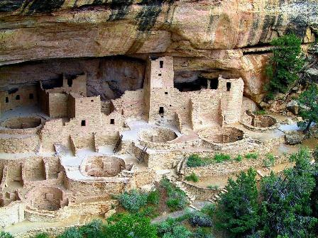 Photo of ruins at Mesa Verde National Park
